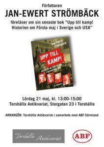 Föredrag om 1:a maj i historien